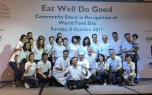 World Food Day 2017 Pan Pacific Hotels Group